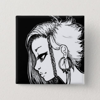 Ink Portraits (Panya) Button