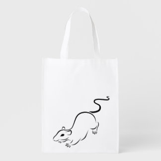 Ink Rat Grocery Bags