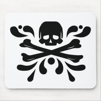 Ink Skull Mouse Pad