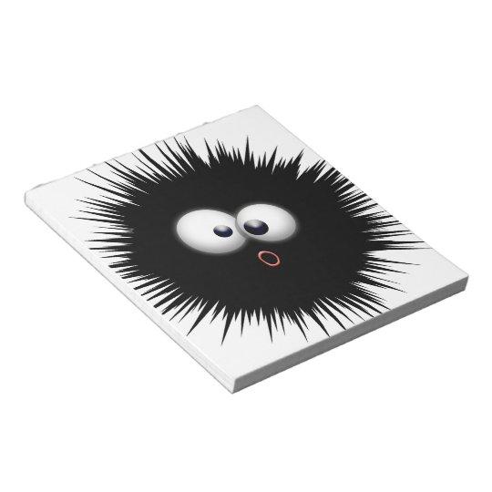Ink Splat Cartoon Notepad