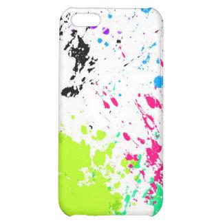 ink splatter case for iPhone 5C