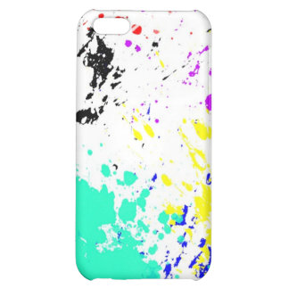 ink splatter cover for iPhone 5C