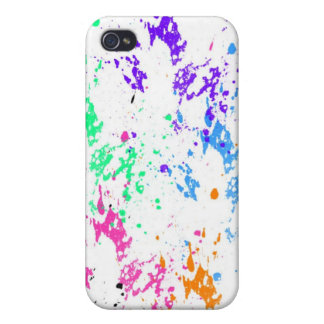 ink splatter iPhone 4/4S case