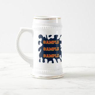 Ink Splatter Tall Beer Stein Mug
