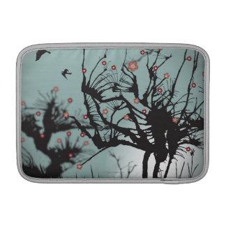 Ink Splattered Trees Sleeve For MacBook Air