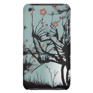 Ink Splered Trees Barely There iPod Cover