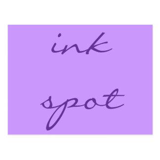 ink spot postcard