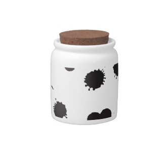 Ink Spots Candy Jar