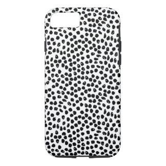 Ink Spots - White/Black / Andrea Lauren iPhone 7 Case