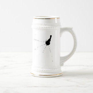 Ink Stain Beer Stein