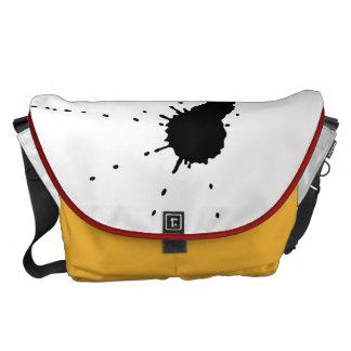 Ink Stain Messenger Bag