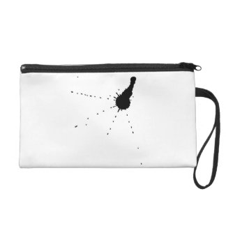 Ink Stain Wristlet