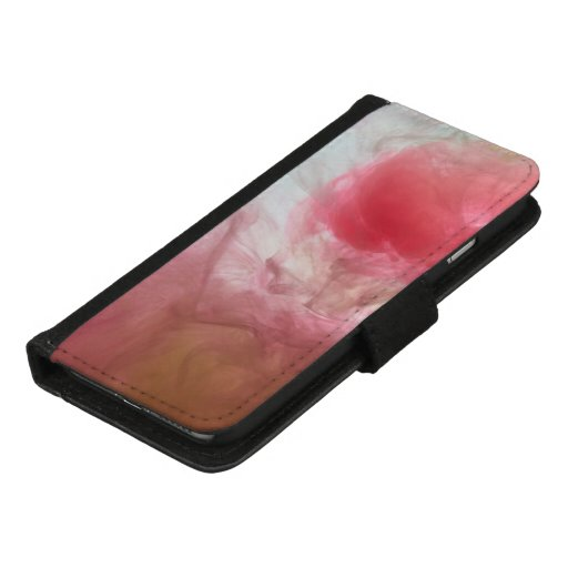 Ink Water Pink Green iPhone 8/7 Wallet Case