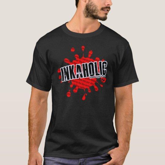 Inkaholic Blood Spatter T-Shirt
