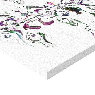 InkBlot - Asymmetry 1 Canvas Print