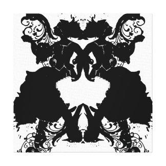 Inkblot Canvas Print