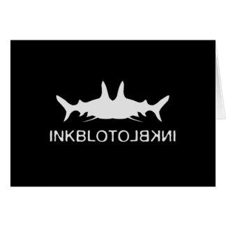 Inkblot Fish Card