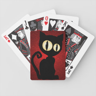 'Inkblot Kitty' Playing Cards