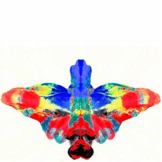 Inkblot Moth - Pin, Photo Statue or Keychain.