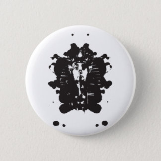 Inkblot Pharaoh Button