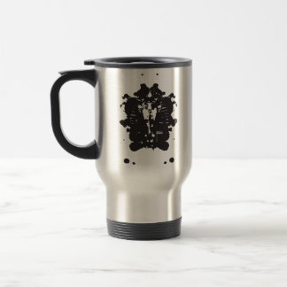 Inkblot Pharaoh Travel Mug