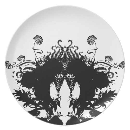 Inkblot Plate