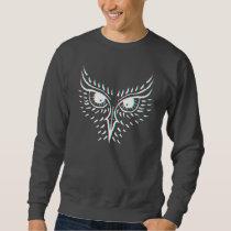 Inked Owl Sweatshirt - Dark Grey