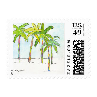 Inked Palms First Class Postage