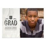 Inked | Photo Graduation Party 5x7 Paper Invitation Card