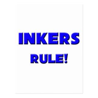 Inkers Rule! Postcard