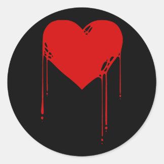 _inkheart round sticker