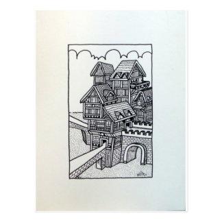 Inkinf 1 D por Piliero Tarjeta Postal