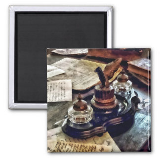 Inkstand 2 Inch Square Magnet