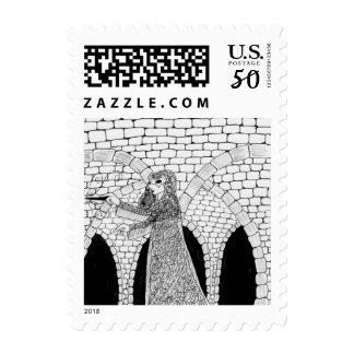 Inktober 2015 #12 Postage Stamp