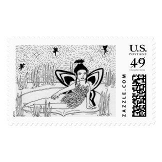 Inktober 2015 #17 Postage Stamp
