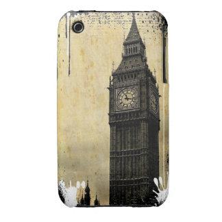 Inky Big Ben iPhone 3 Case-Mate Cases