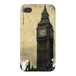 Inky Big Ben iPhone 4 Cover