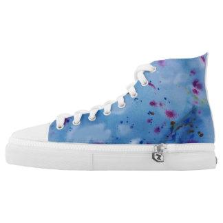 Inky blue High-Top sneakers