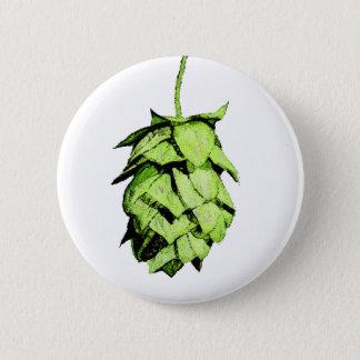 Inky Hop Illustration Pinback Button