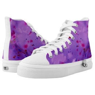 Inky pink High-Top sneakers