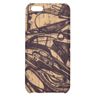 Inky writes Pokey Detail 1 iPhone 5C Cover
