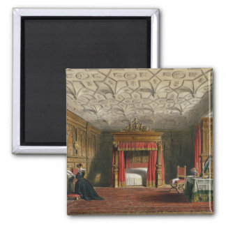 Inlaid Chamber, Sizergh, Westmoreland, 1849 (w/c o 2 Inch Square Magnet