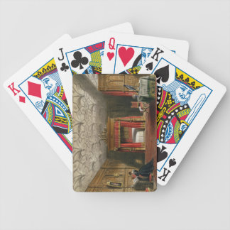 Inlaid Chamber, Sizergh, Westmoreland, 1849 (w/c o Bicycle Playing Cards