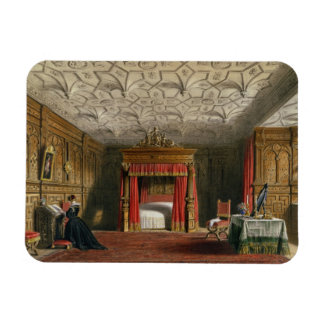 Inlaid Chamber, Sizergh, Westmoreland, 1849 (w/c o Rectangular Photo Magnet