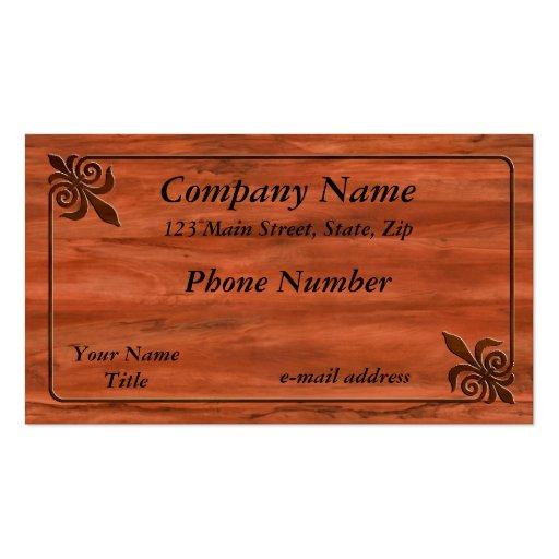 Fleur de lis business card templates page2 bizcardstudio inlaid fleur de lis business cards colourmoves