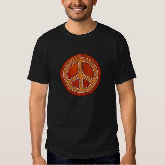 Inlaid Peace Tee Shirt