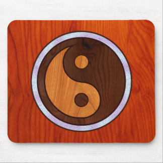 Inlaid Yin Yang Mouse Pad