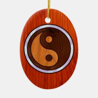 Inlaid Yin Yang Christmas Ornaments