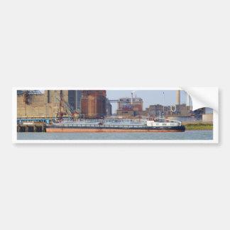 Inland Cargo Vessel Purgo Car Bumper Sticker