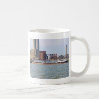 Inland Cargo Vessel Purgo Coffee Mug